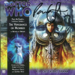 "Doctor Who ""The Vengeance of Morbius"" (CD COVER ONLY) signed by Paul McGann 1314"